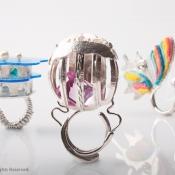 Antonio Gaudi Ring Collection